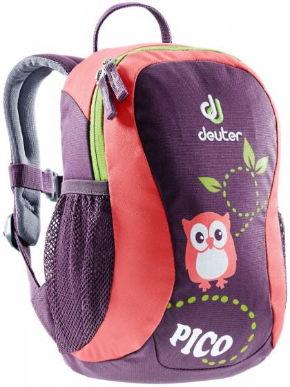 Deuter Pico Plecak dziecięcy fioletowy