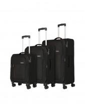 Travelite Mako Komplet 3 walizek antracytowych