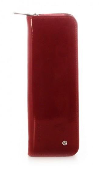 Wojewodzic Swarovski Elements Piórnik czerwony