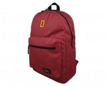National Geographic Globe Trotter Plecak miejski czerwony