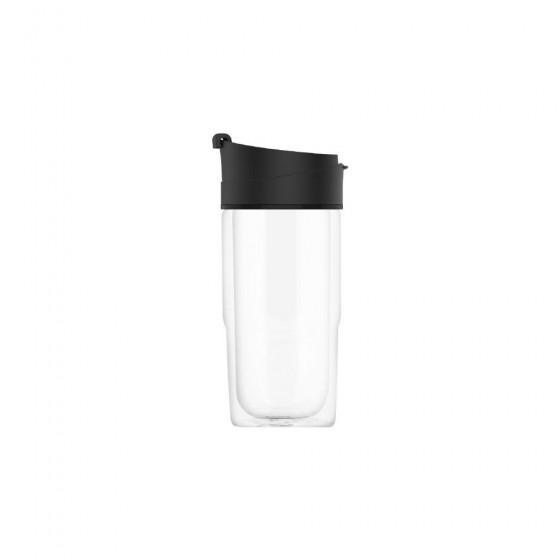SIGG Nova Kubek szklany czarny