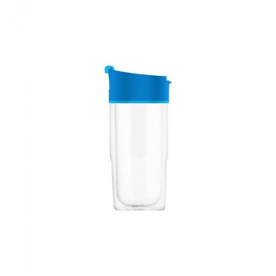 SIGG Nova Kubek szklany niebieski