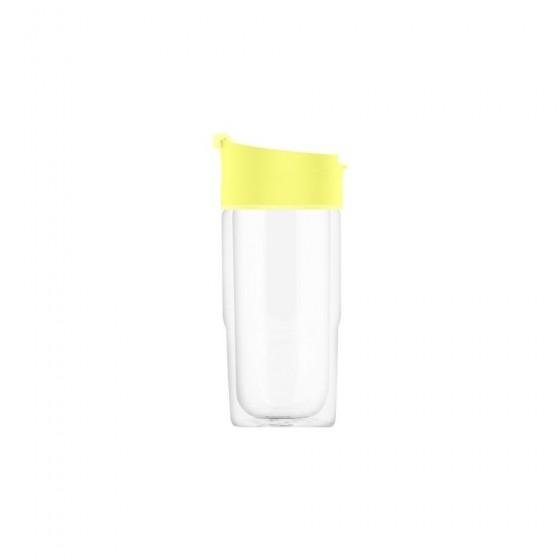 SIGG Nova Kubek szklany żółty