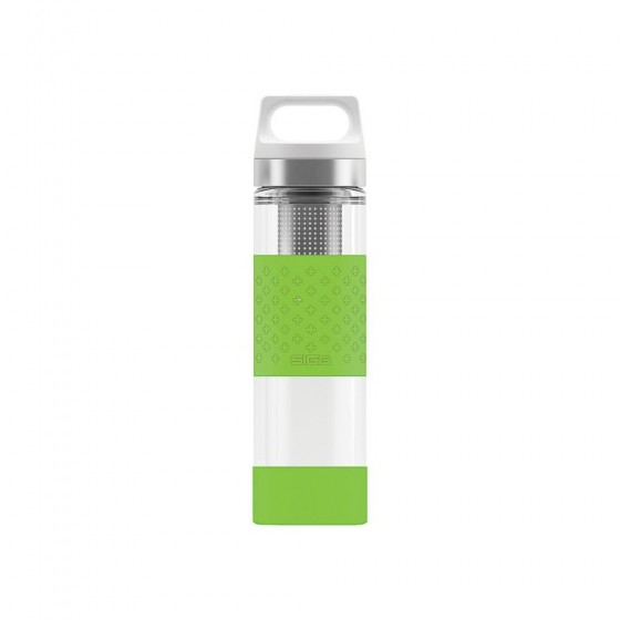 SIGG Hot & Cold Glass Termos zielony