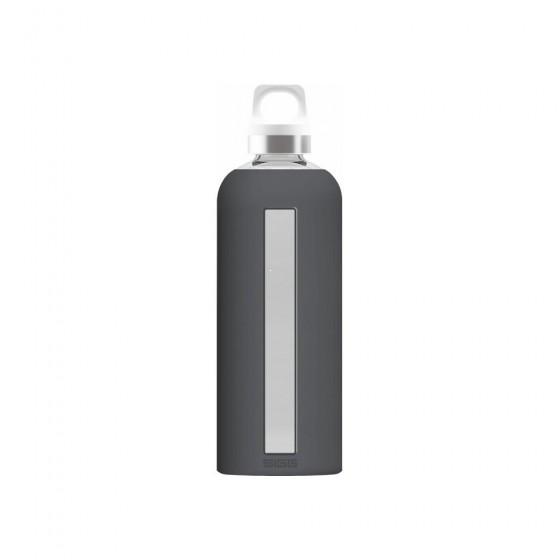 SIGG Star Butelka szklana szara