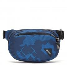 Pacsafe Vibe 100 Nerka biodrówka niebieska kamuflaż