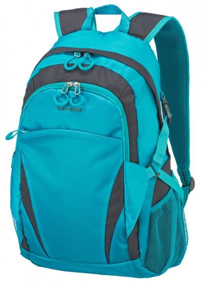 Travelite Basics Plecak miejski niebieski