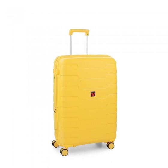 Roncato Skyline Walizka średnia żółta