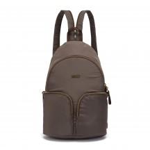 Pacsafe Stylesafe sling backpack Plecak damski brązowy