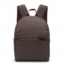 Pacsafe Stylesafe backpack Plecak damski brązowy