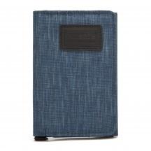 Pacsafe RFIDsafe Portfel męski niebieski