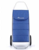 Rolser COM 8 Tweed Polar Wózek na zakupy niebieski