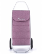 Rolser COM 8 Tweed Polar Wózek na zakupy fioletowy