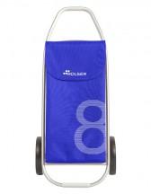 Rolser COM 8 Wózek na zakupy niebieski