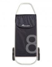 Rolser COM 8 Wózek na zakupy czarny