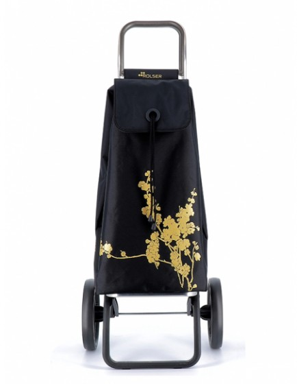 Rolser I-Max Logic RSG Nitt Oro Wózek na zakupy czarny
