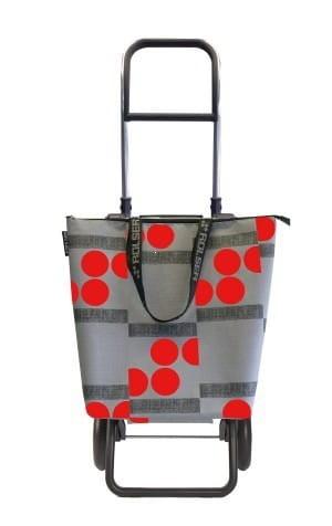 Rolser Logic RG Mini Bag Logos Wózek na zakupy czerwony