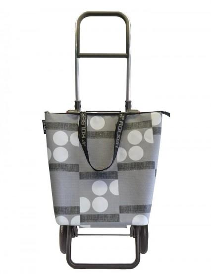 Rolser Logic RG Mini Bag Logos Wózek na zakupy szary