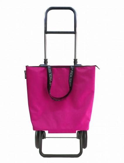Rolser Logic RG Mini Bag MF Wózek na zakupy różowy