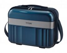 Titan Spotlight Kuferek podróżny kosmetyczka niebieska