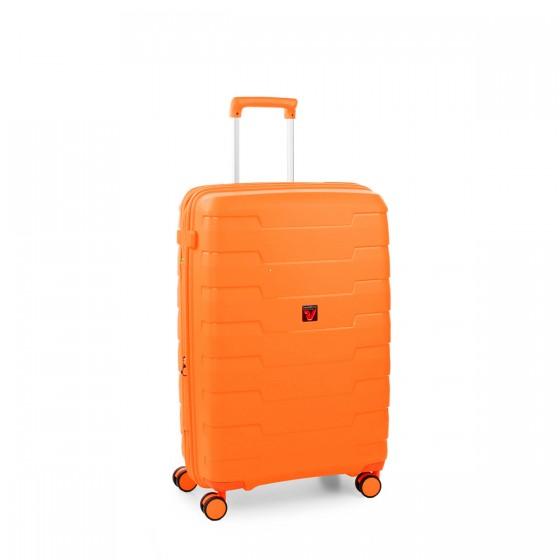 Roncato Skyline Walizka średnia pomarańczowa
