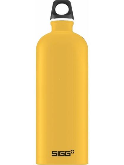 SIGG Traveller Butelka na wodę magenta żółta