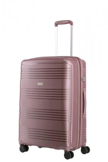 Travelite Zenit Walizka średnia różowa