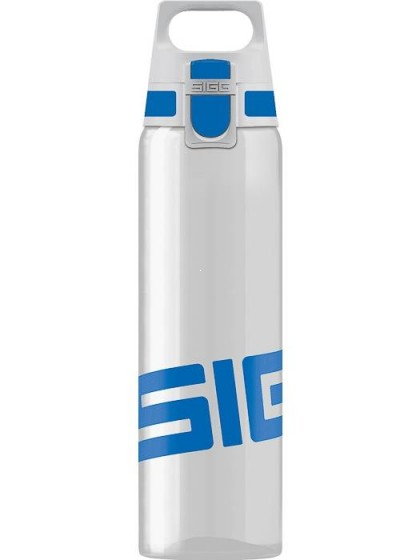SIGG Total Clear One Butelka na wodę niebieska