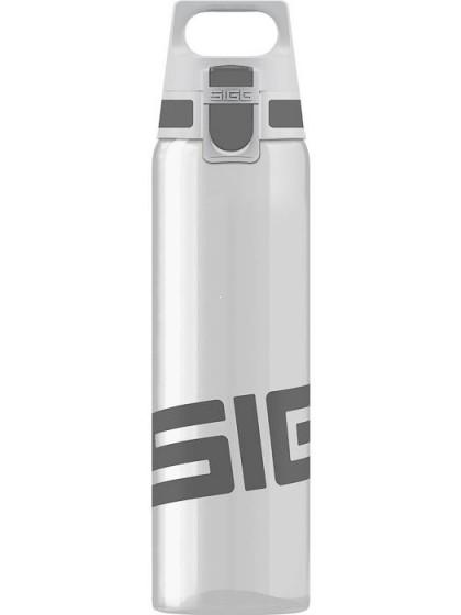 SIGG Total Clear One Butelka na wodę szara
