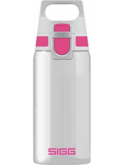 SIGG Total Clear One Butelka na wodę różowa