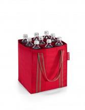 Reisenthel Bottlebag Torba na zakupy czerwona