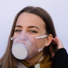 Roncato Health Botect Maska higieniczna wielorazowa bezbarwna