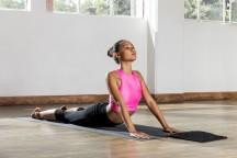 Banale Mata do jogi i ćwiczeń czarna