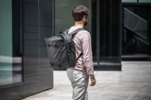 Banale Plecak miejski z torbą na siłownię czarny