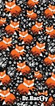 Dr.Bacty Ręcznik szybkoschnący liski