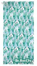 Dr.Bacty Ręcznik szybkoschnący Kaktus Zielony