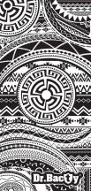 Dr.Bacty Ręcznik szybkoschnący Aztec