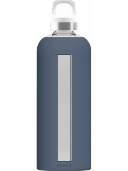 SIGG Star Butelka szklana granatowa