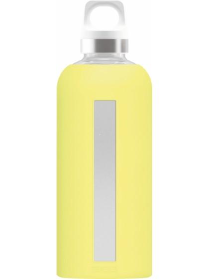 SIGG Star Butelka szklana żółta