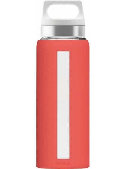 SIGG Dream Butelka szklana czerwona