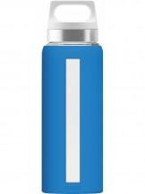 SIGG Dream Butelka szklana niebieska
