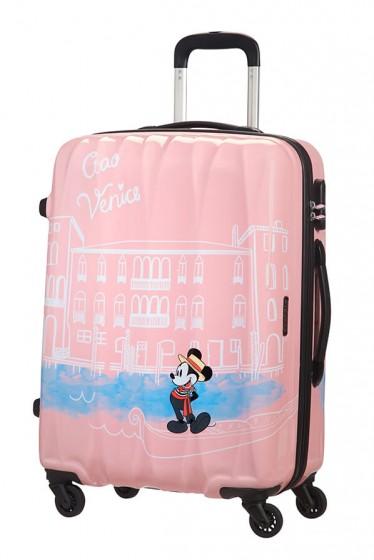 American Tourister Disney Legends Walizka średnia różowa