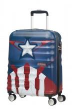 American Tourister Urban Groove Captain America Walizka mała kolorowa
