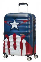 American Tourister Urban Groove Captain America Walizka średnia czerwona
