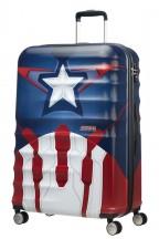 American Tourister Urban Groove Captain America Walizka duża czerwona