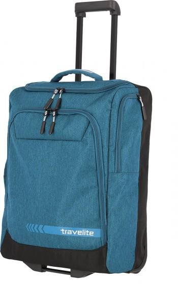 Travelite Kick Off Torba podróżna na kółkach niebieska