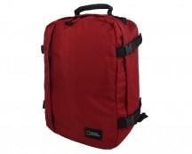 National Geographic Hybrid Torba podręczna, plecak czerwony