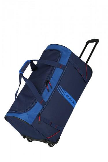 Travelite Basics Torba podróżna na kółkach niebieska