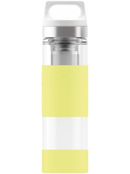 SIGG Hot & Cold Glass Termos limonka