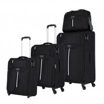 Travelite Speedline Komplet 3 walizek i torba podręczna antracytowy